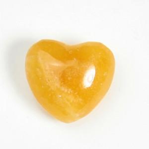 オレンジカルサイトハート(25hc019-1)