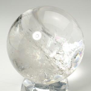 レインボー水晶丸玉(crbo048-1)