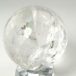 レインボー水晶丸玉(crbo048-2)