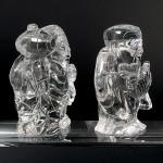 水晶彫刻恵比寿大黒(cycz010-3)