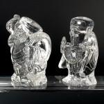 水晶彫刻恵比寿大黒(cycz010-4)