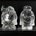 水晶彫刻恵比寿大黒(cycz010-6)