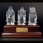 水晶彫刻福禄寿(cycz011-1)
