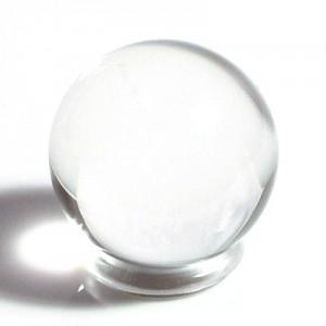 透明水晶丸玉(20mm)1個(czbo20m-1)