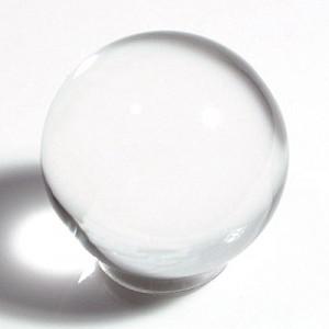透明水晶丸玉(25mm)1個(czbo25m-1)