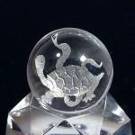 水晶丸玉彫刻 玄武(czcb004-1)