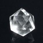 20面カット水晶(czcu018-1)