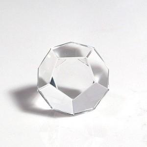 水晶12面体カット(czcu104-1)