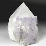 フローライト付き水晶ポイント(flcz008-1)