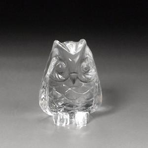 水晶彫刻フクロウ(fucz101-1)