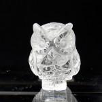 水晶彫刻フクロウ(fucz102-1)