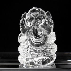 ヒマラヤ水晶ガネーシャ像(hmcc011-1)