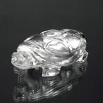 水晶彫刻亀(hmcc019-4)