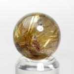 ゴールドルチルクオーツ丸玉(rubo224-5)