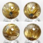 ゴールドルチルクオーツ丸玉(rubo224-6)