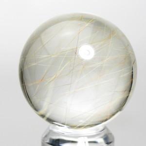 ルチルクオーツ丸玉(rubo237-1)