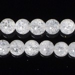 4mmクラック水晶ビーズ(1連)(r04_025-1)