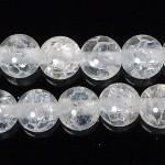6mmクラック水晶ビーズ(半連)(rh06_025-1)
