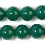 8mm緑めのうビーズ(半連)(rh08_078-1)