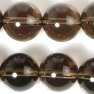 10mmスモーキークオーツビーズ(半連)(rh10_011-1)