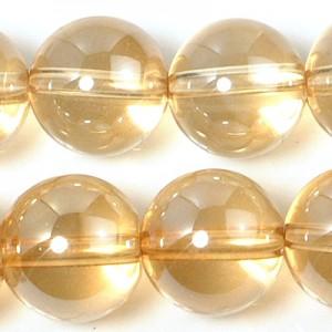 10mmゴールドオーラビーズ(半連)(rh10_g010-1)